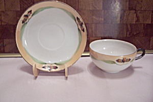 Occupied Japan China Lustre Cup & Saucer Set