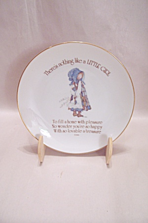 Lasting Memories Little Girl Collector Plate