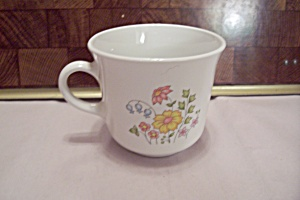 Corning Corelle Floral Decorated Cup