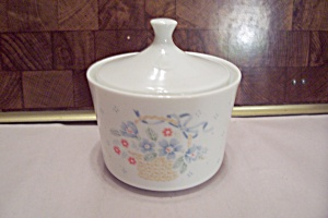 Corning Ware Sugar Bowl With Lid