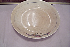 China Rose Decorated Coupe Soup Bowl
