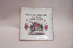 Porcelain Novelty Decorative Dish/plaque