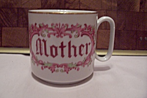 White Porcelain Mother's Day Mug