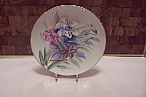 Registered Japanese Celebrate Floral Collector Plate