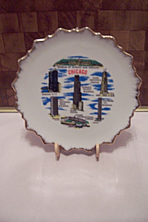 Chicago Souvenir Collector Plate