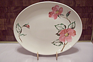 Knowles Desert Rose China Serving Platter