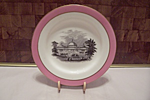 Vintage Scene Collector Plate