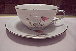 Royal Duchess Mountain Bell Pattern China Cup & Saucer