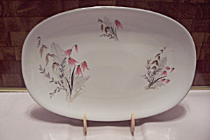 Royal Duchess Mountain Bell Pattern China Oval Platter