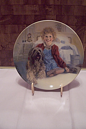 Knowles Annie And Sandy Collector Plate