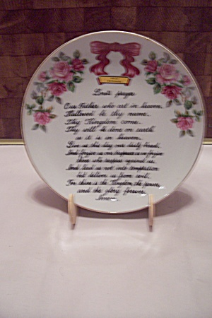 Uscago Hills Of Kentucky Lord's Prayer Collector Plate