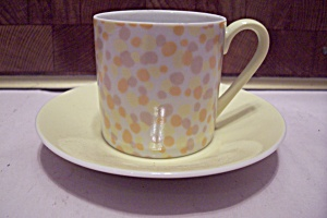 Donghia Confetti Demitasse Cup And Saucer Set