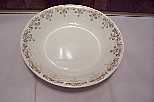 Royal China Gold Krest Pattern China Soup Bowl