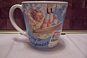 Porcelain Rice Crispies Ceral Advertising Mug