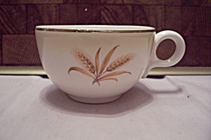 Homer Laughlin Golden Wheat Pattern China Cup