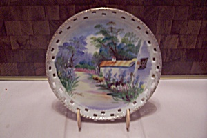 Hand Painted Japanese Collector Plate