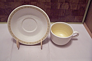 Franciscan Earthenware Pattern 156-69 Cup & Saucer
