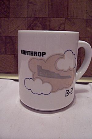 Porcelain Northrop B-2 Bomber Mug (Image1)