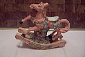Decorative Composition Rocking Horse