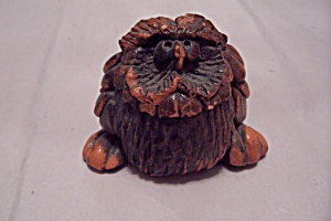 Red Composition Critter Figurine