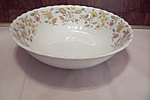 International China Sonnet Rosa Pattern Soup Bowl