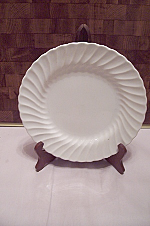 Sheffield White Bone China Swirl Pattern Dinner Plate & Sheffield - Antique China Antique Dinnerware Vintage China ...
