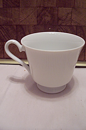 Japan Fine China Ascot Pattern Footed Teacup