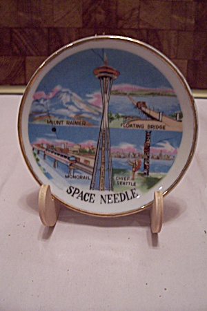 Seattle Space Needle Souvenir Collector Plate
