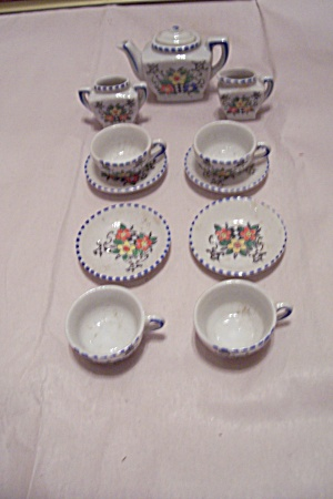 Occupied Japan Toy China 12 Piece Tea Set