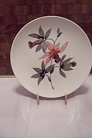Japanese Hand Painted Flower China Collector Plate
