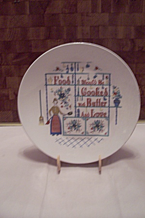 Porcelain Kitchen Cooking Collector Plate