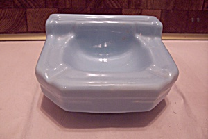 Baby Blue Porcelain Bathroom Sink Ash Tray