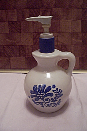Avon Porcelain Country Jug Dispenser