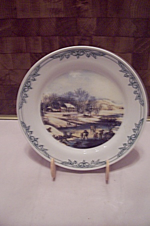 Currier & Ives Collector Plate