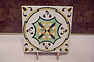 Hand Painted Ceramic Art Tile