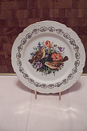 Pair Of Birds Collector Plate