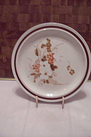 Four Seasons Autumn Bouquet Stoneware Dinner Plate
