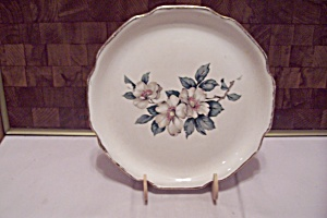 Japanese Hand Painted Floral Decorated Collector Plate