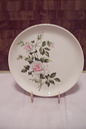 Cooksville Dinner Rose China Collector Plate