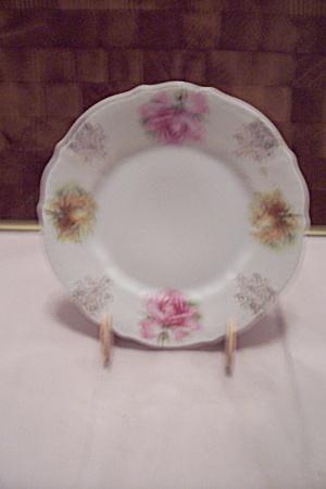 C. T. Bavarian China Pink Rose Decorated Dish & Bavaria - Antique China Antique Dinnerware Vintage China Vintage ...