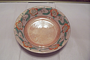 Occupied Japan Hand Painted Lustre Ware Bowl