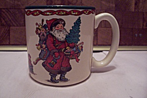 Porcelain Kris Kringle Mug