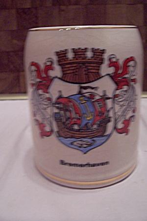 German White Porcelain Bremerhaven Souvenir Mug (Image1)