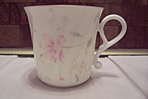 Japanese Pink Flower Decorated Teacup