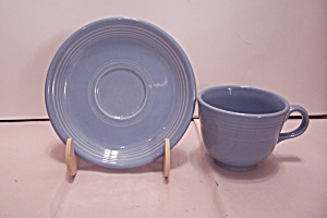 Fiesta Periwinkle Blue #0108 Cup & Saucer Set