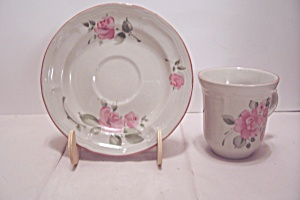Gibson Pink Rose Pattern China Cup \u0026 Saucer Set & Gibson - Antique China Antique Dinnerware Vintage China Vintage ...