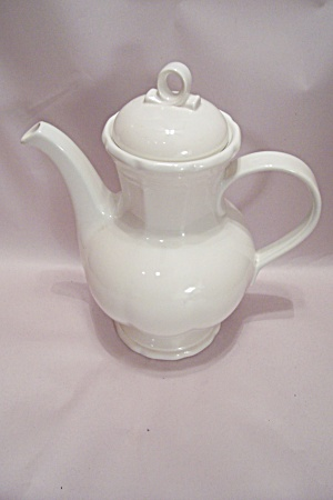 Mikasa White French Countryside Teapot