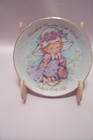 Avon Cherished Moments 1981 Mother's Day Plate
