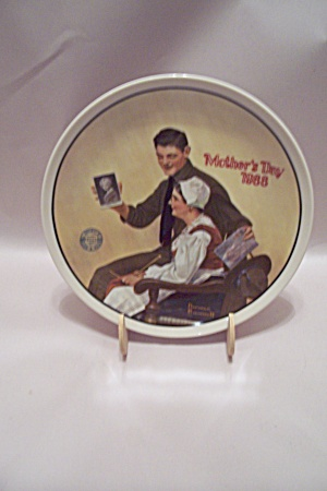 Norman Rockwell Mother's Day 1988 Collector Plate