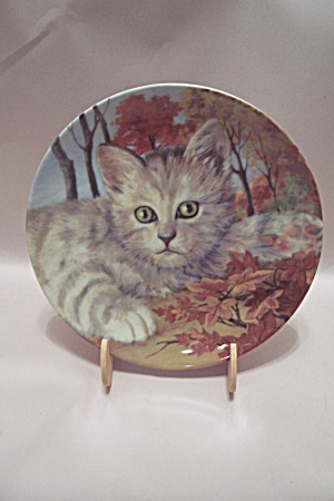 Forest Cat Collector Plate